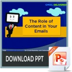 email content, inbox placement