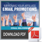 improving your affiliate email promotion