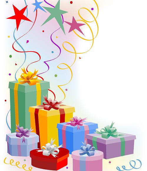 Фотошоп подарки к дню рождения